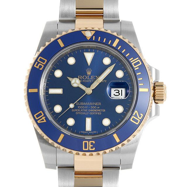 【48回払いまで無金利】ロレックス サブマリーナ デイト 116613LB ブルー ランダムシリアル メンズ(03SEROAU0002)【中古】【腕時計】【送料無料】