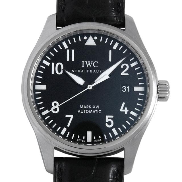 【48回払いまで無金利】IWC マーク16 マークXVI IW325501 メンズ(0A89IWAU0017)【中古】【腕時計】【送料無料】