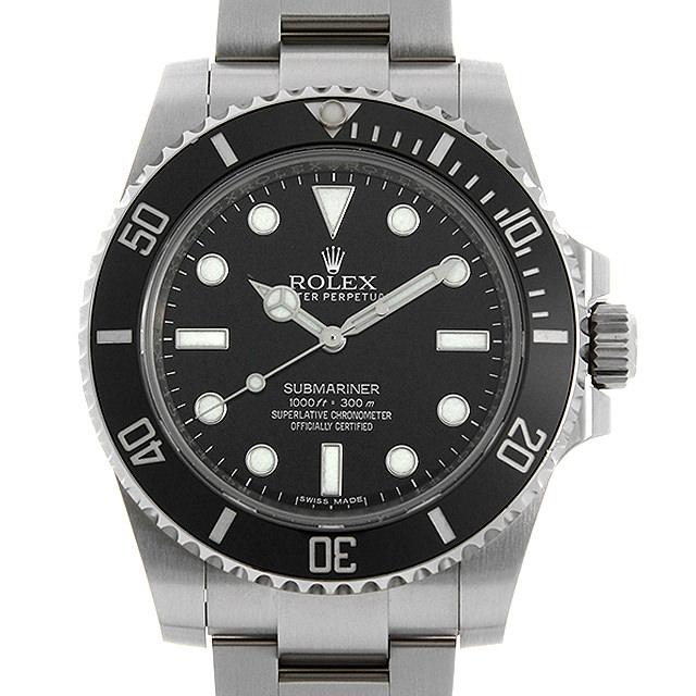 【48回払いまで無金利】ロレックス サブマリーナ ノンデイト 114060 メンズ(0O90ROAU0001)【中古】【腕時計】【送料無料】