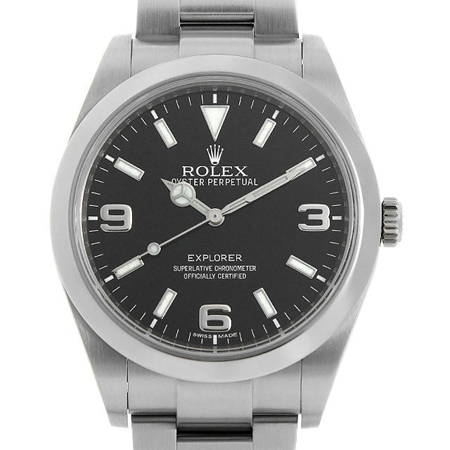 ロレックス エクスプローラー 214270 ランダムシリアル メンズ(0OB5ROAU0001)【中古】【腕時計】【送料無料】