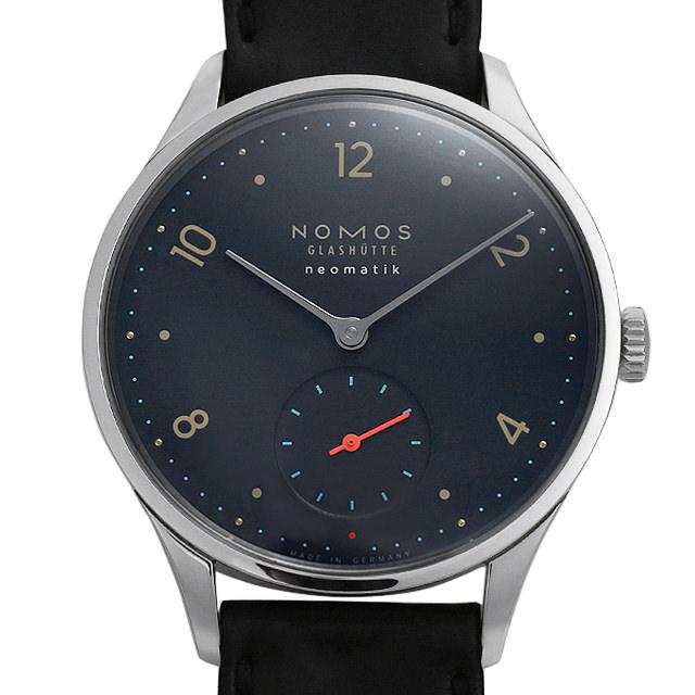 【48回払いまで無金利】ノモス ミニマティック ディープブルー MM130011BL2(1205) メンズ(0671NOAN0116)【新品】【腕時計】【送料無料】