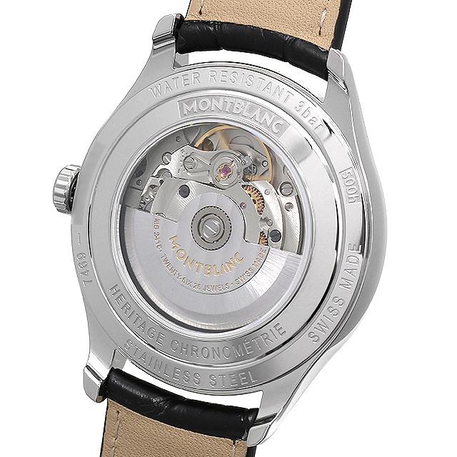 【48回払いまで無金利】モンブラン ヘリテイジ クロノメトリー オートマティック 118224 メンズ(006TMLAN0043)【新品】【腕時計】