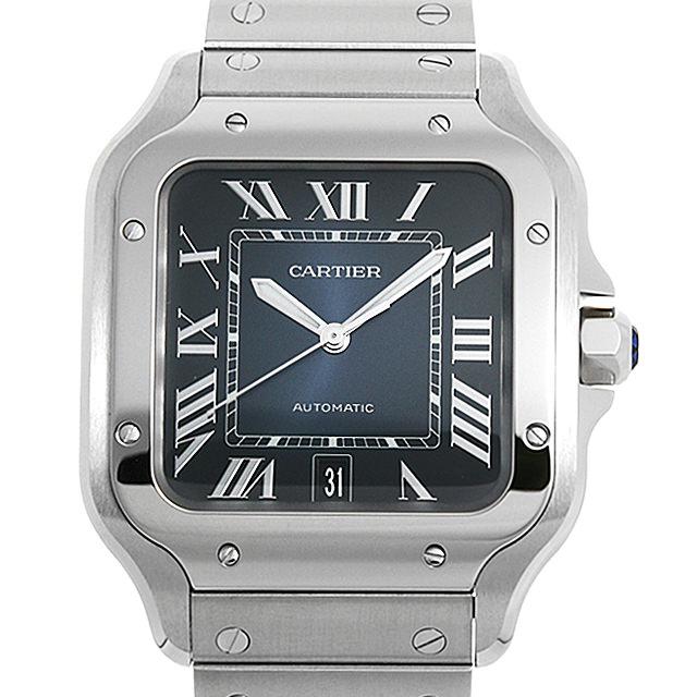 【48回払いまで無金利】カルティエ サントス ドゥ カルティエ LM WSSA0013 メンズ(0088CAAN0029)【新品】【腕時計】【送料無料】【キャッシュレス5%還元】