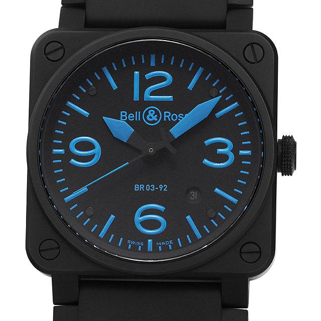 ベル&ロス BR03-92 ブルー BR03-92BLUE-R メンズ(07EBBOAU0004)【中古】【腕時計】【送料無料】