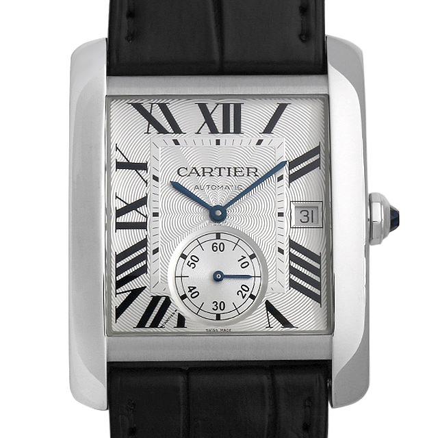 カルティエ タンクMC W5330003 メンズ(0OBFCAAU0001)【中古】【腕時計】【送料無料】