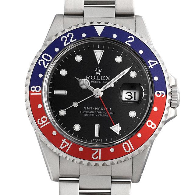 SALE 【48回払いまで無金利】ロレックス GMTマスター 黒ベゼル 16700 U番 メンズ(0KEAROAU0001)【中古】【腕時計】【送料無料】【キャッシュレス5%還元】