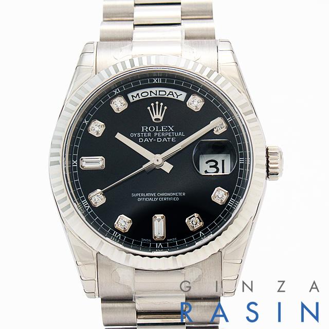 【48回払いまで無金利】ロレックス デイデイト 118239A メンズ(N-118239A)【新品】【腕時計】【送料無料】