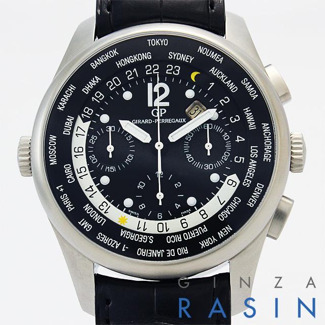【48回払いまで無金利】ジラールペルゴ WW.TCクロノグラフ 49805-11-650-BA6A メンズ(N-4980511650BA)【新品】【腕時計】【送料無料】