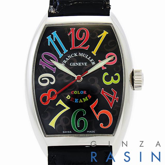 【48回払いまで無金利】フランクミュラー トノーカーベックス カラードリームス 7851SC COL DRM AC メンズ(N-7851SCCOLDRM)【新品】【腕時計】【送料無料】