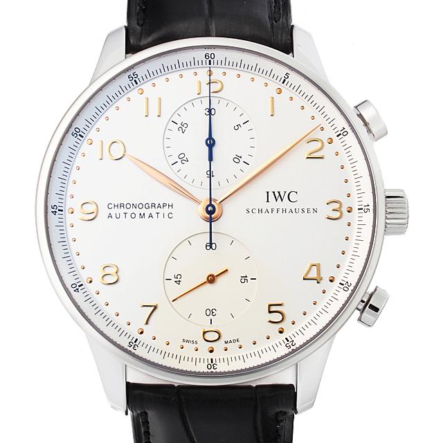【48回払いまで無金利】IWC ポルトギーゼ クロノグラフ IW371445 メンズ(0FHMIWAN0033)【新品】【腕時計】【送料無料】