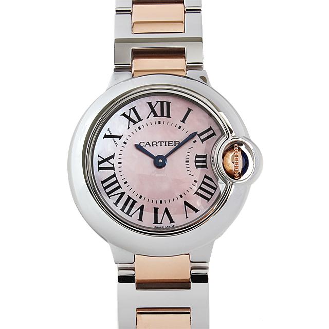 【48回払いまで無金利】カルティエ バロンブルー SM W6920034 レディース(0066CAAN0195)【新品】【腕時計】【送料無料】