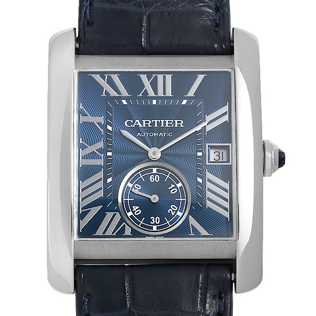 【48回払いまで無金利】カルティエ タンクMC WSTA0010 メンズ(008KCAAU0072)【中古】【腕時計】【送料無料】【キャッシュレス5%還元】