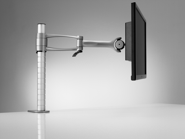 Wishbone モニターアーム 2関節 多数受賞のデザイン モニター耐荷重12kg 大型モニター対応