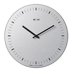【送料無料】REXITE レキサイト ORARIO オラリオ シルバーイタリア製デザイナーズ壁掛時計 45cmのBIGフェイス☆