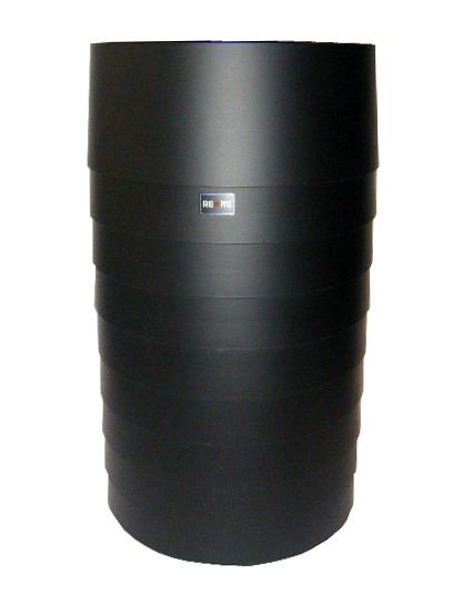 【送料無料】REXITE レキサイト STATUS tall waste basket ゴミ箱/傘立て 黒イタリア製デザイナーズ