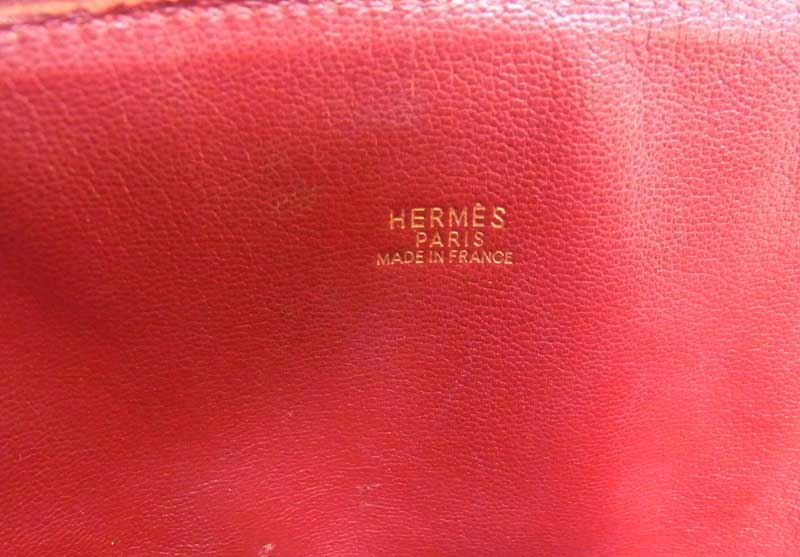 Hermes HERMES bolide bag Bordeaux red bag beauty products