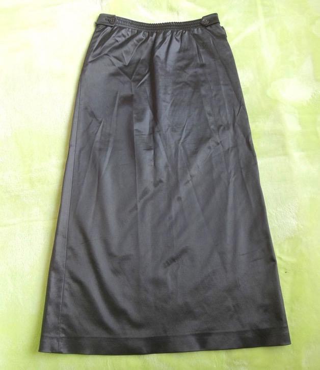 CHANEL シャネル /ロング スカート 黒 サイズ34 古着 【中古】c-003