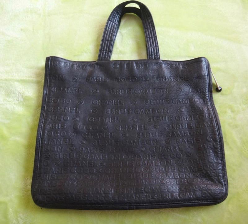 10%OFF chanel bag シャネル マトラッセ チェーン ショルダー 鞄レザートートバッグ 黒 ビックサイズ【中古】 c16-3100◆◆