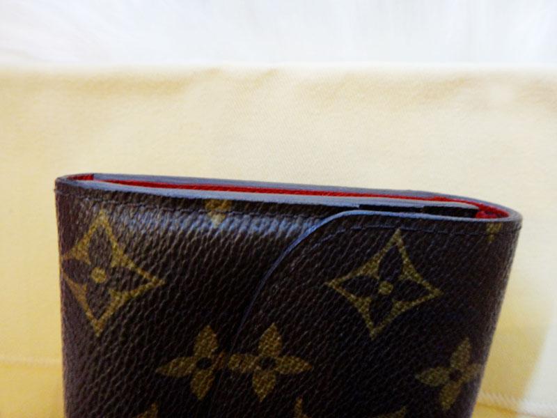 ★ LV Louis Vuitton ★ authentic Monogram wallet-Emily Rouge M60136 ★ wallet lv-002 lv1001445 ◆ ◆