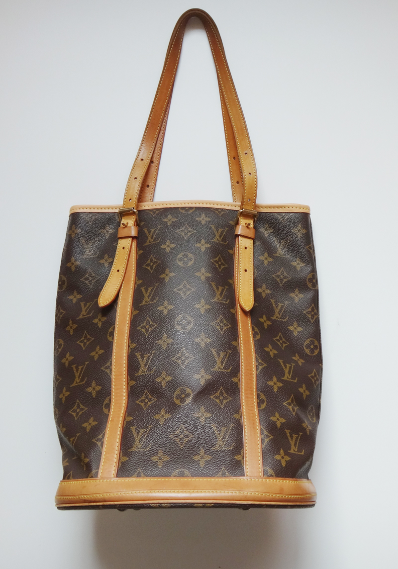Gm Credit Card >> RayLine: Louis Vuitton LV Louis Vuitton genuine article monogram pail GM shoulder bag M42236 ...