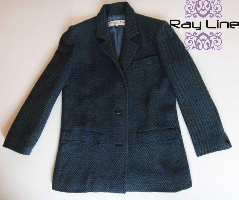 Christian Diorクリスチャン・ディオール スーツ ジャケット・巻きスカートセット 古着 【中古】t-003