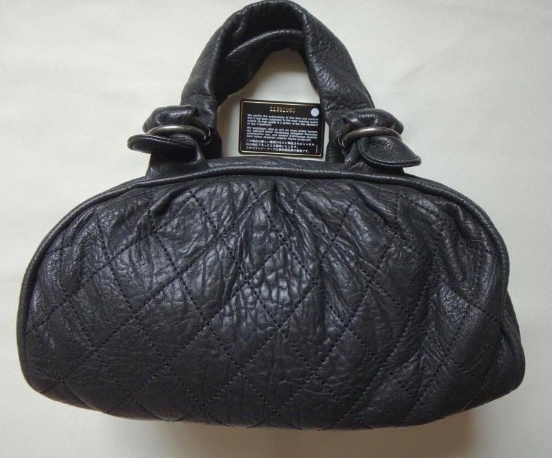 3b7a822530ba CHANELシャネルショルダーバッグレザー黒レディースバッグハンドバッグ鞄かばんバッグ【】 ...
