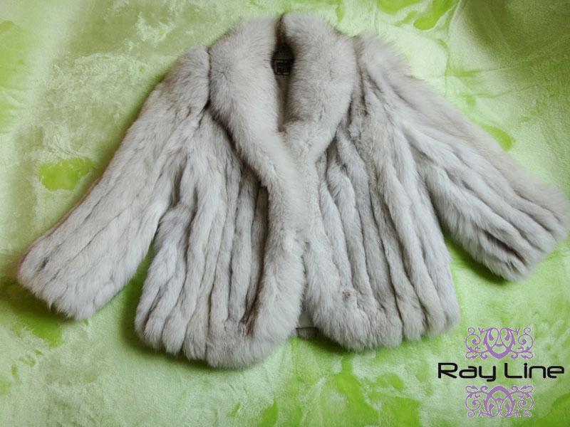 SAGA FOXコート サガフォックス 毛皮 コート ホワイト系 サイズ14 古着 防寒 暖かい MINK【中古】t-003
