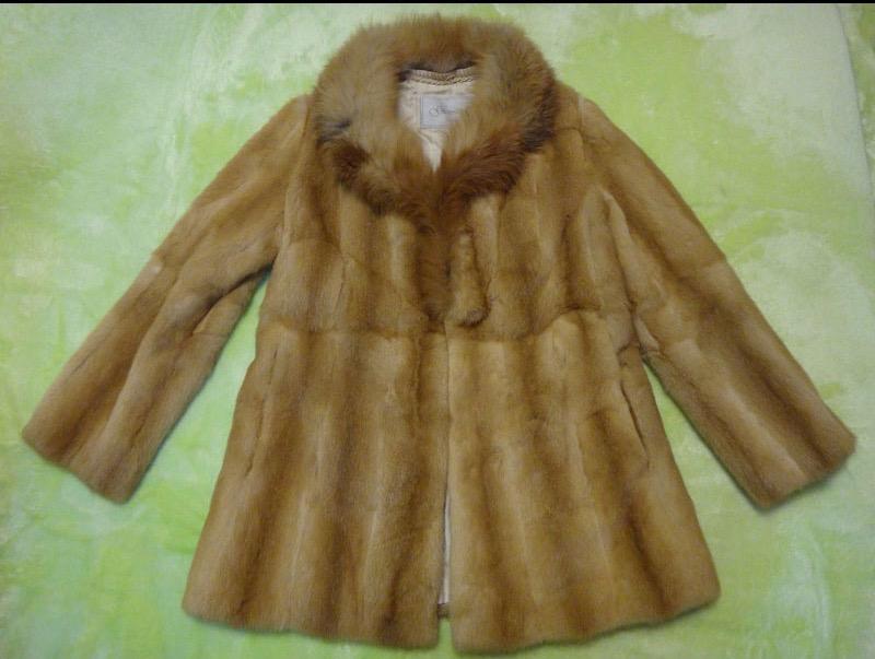 コート 防寒 暖かいオンワード 毛皮 コート サイズ11 ブラウン 古着 【中古】t-003MINKコート SAGAコートFOX フォックスFOX フォックスFOX フォックス FOX フォックス SAGA MINKコートSAGA MINKコート