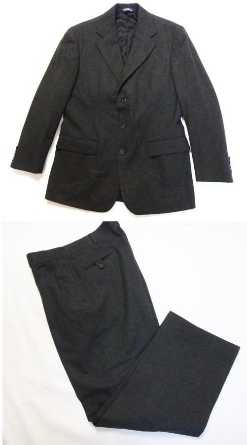 Polo RalphLauren polo Ralph Lauren men suit gray size 40 34 old clothes  t-003 5a39411459