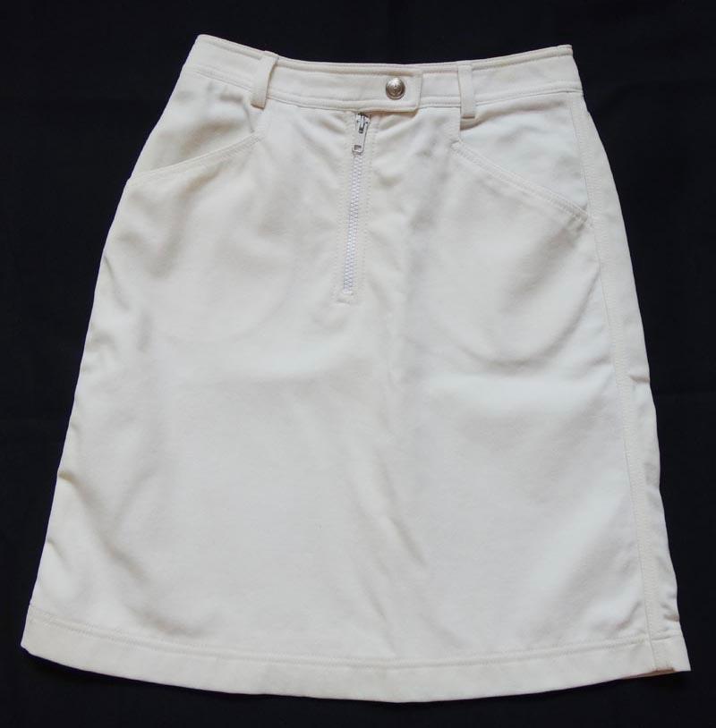 GUCCI グッチ レディース スカート サイズ38 オフホワイト 古着 【中古】t-003