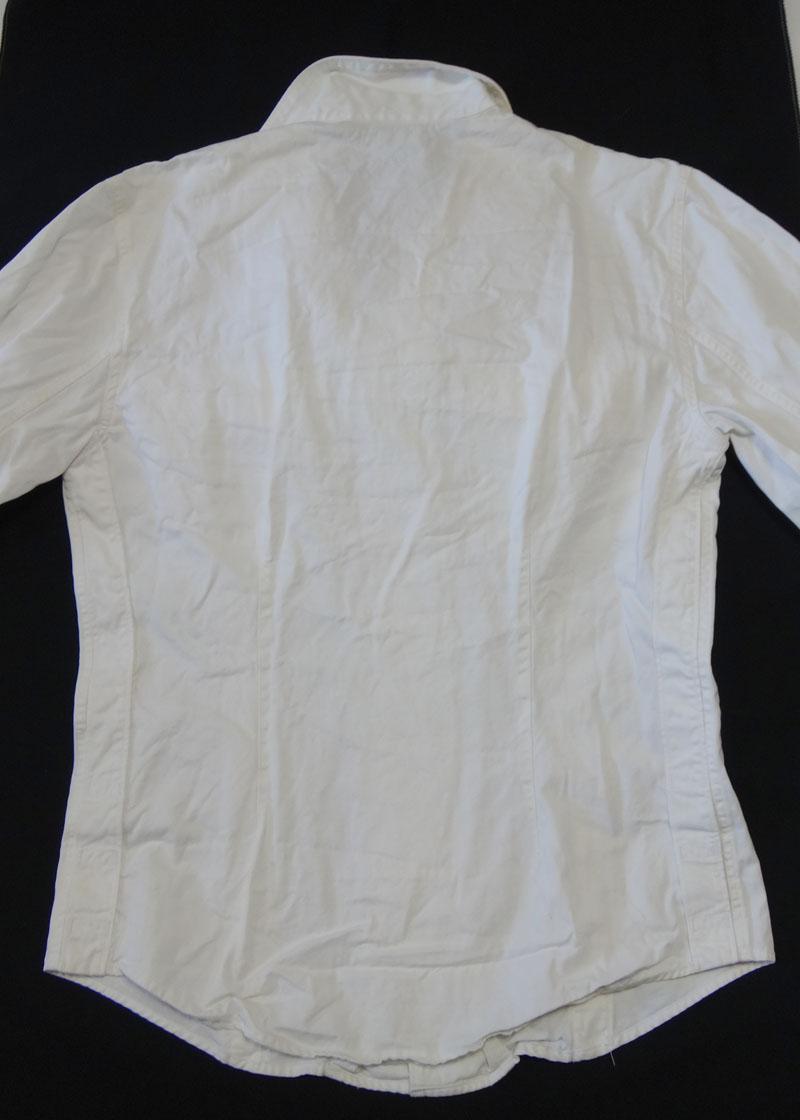 a5e68a31f87 RayLine  GUCCI Gucci men casual shirt size 38 white old clothes t-003