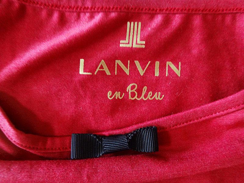 LANVIN ランバン キャミソール 赤系 サイズ38 新品未使用品t 003OnwyNvP0m8