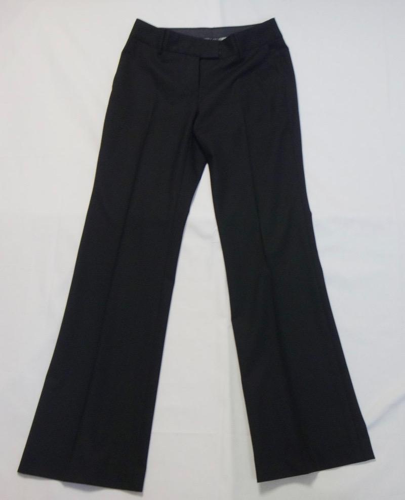 CK カルバンクライン パンツ サイズ2 黒 古着 【中古】t-003
