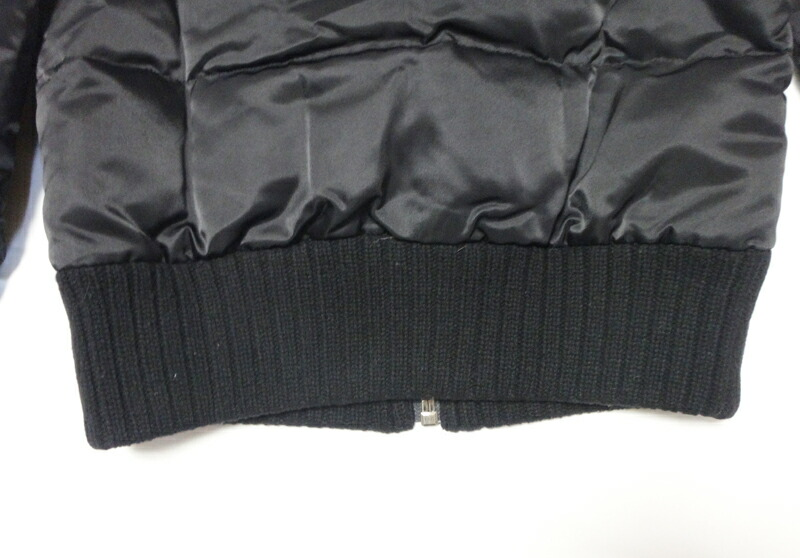 7c6586523bf6 ... blue label Lady s down jacket black size 38 old clothes t-003 y17-4725◇◇.  Used - Very Good. Details