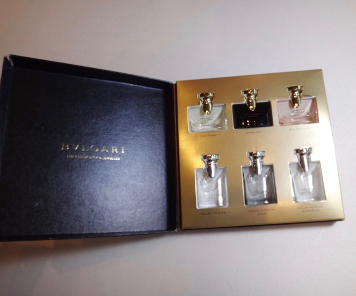 BVLGARI ブルガリ 香水セット 未使用品【中古】t-002
