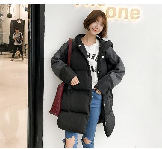暖かい レディース アウター 2色 中綿コート ジャケット フード付き S-3XLサイズ 新品未使用品 t-003△△bhz171122-036