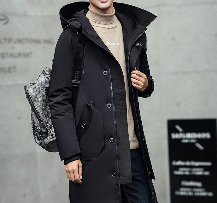 メンズ フード付き ジャケット コート 中綿 全3色 パーカー M-3XLサイズ 新品未使用品 t-003△△305-65