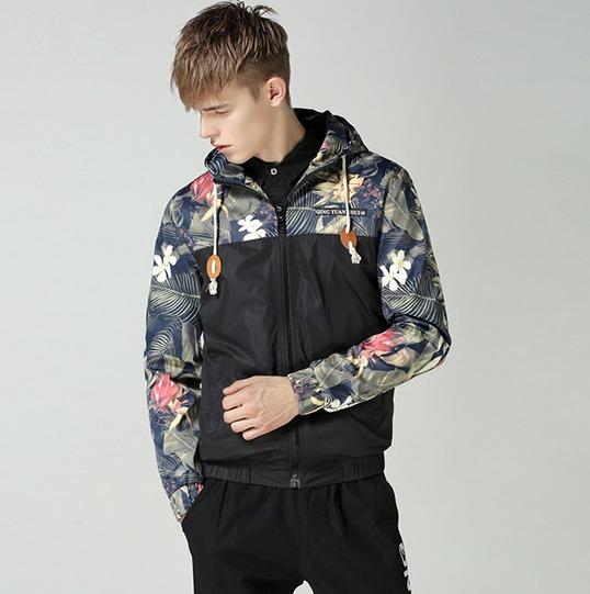 メンズ フード付き ジャケット コート パーカー ブラック M-5XLサイズ 新品未使用品 t-003△△da001-j5090