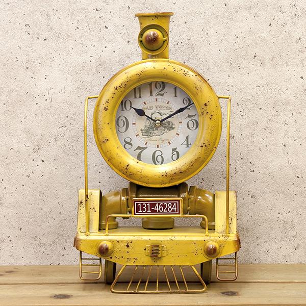 レトロ調 TEXAS CLOCK TRAIN テキサス クロック トレイン 新品未使用品 t-003△△