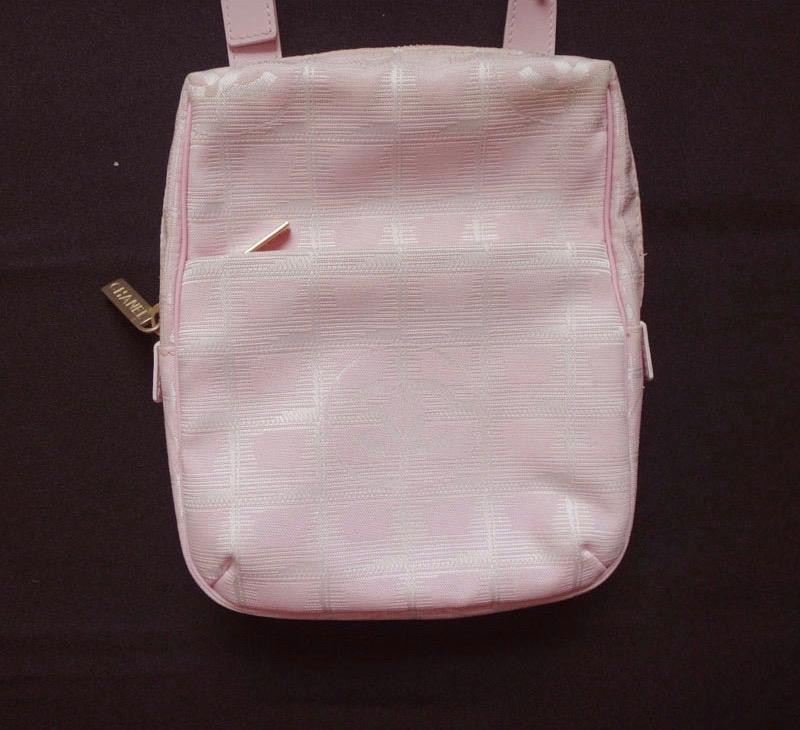 3646872067df CHANEL シャネル ニュートラベルライン ショルダーバッグ 2WAY ショルダーバッグ ピンク レディース バッグ ウエストポーチ 鞄