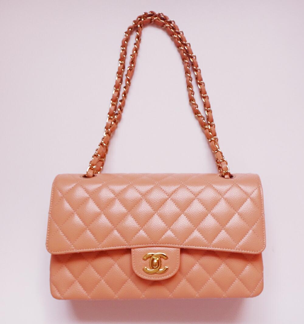 10%OFF Chanel bag 超美品 シャネル バッグ マトラッセ ショルダー キャビアスキン 25 G金具 レディース 鞄 かばん 本物 【中古】