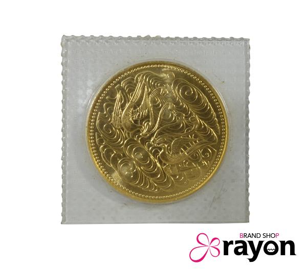 (41226) 記念硬貨 ゴールド/ / パック入り 未開封 天皇陛下御在位60年記念 10万円金貨プルーフ S61 K24 昭和61年