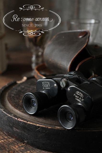 おしゃれ 全品送料無料 古い双眼鏡 日本の古い 双眼鏡 国内送料無料 RE188