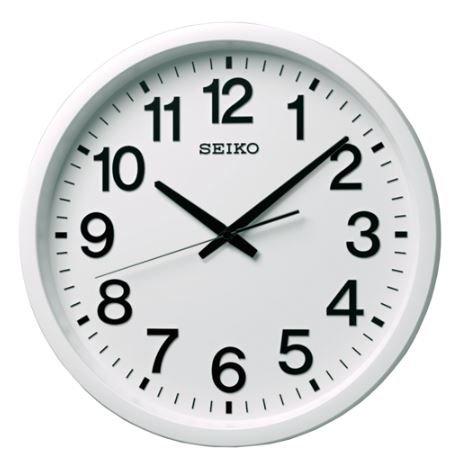 【送料無料】SEIKO CLOCK (セイコークロック) 掛け時計 衛星電波 アナログ 白 GP202W ■送料無料※北海道・九州・沖縄・離島は別途送料(1080円~2160円)