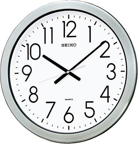 【送料無料】SEIKO CLOCK (セイコークロック) 掛け時計 アナログ 防湿・防塵型 オフィスタイプ 金属枠 KH407S ■送料無料※北海道・九州・沖縄・離島は別途送料(1080円~2160円)