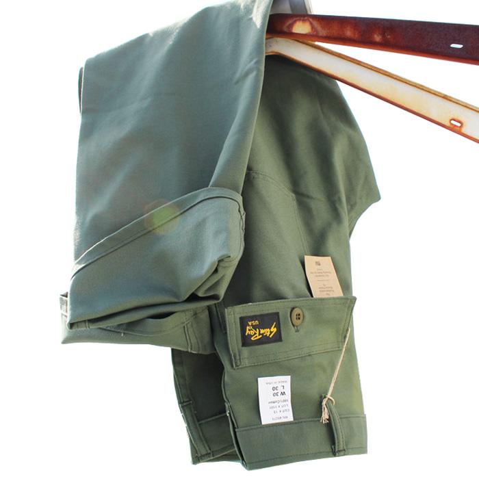 送料無料 ガンホー スタンレー 定番モデル直輸入商品 ワーク ミリタリー ラギッド アメリカ製ウエストサイズ 27~36インチ レングス30インチ