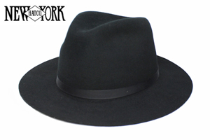 ニューヨークハット(NEW YORK HAT CO.)#5305 WOOL FELT HATHOMESTEAD(COLOR : 2 VARIATIONS)【05P03Sep16】