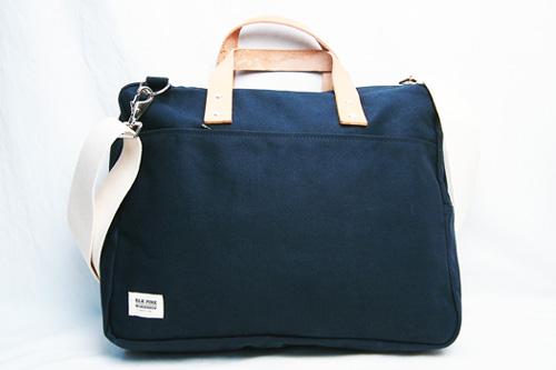 送料無料 BLK PINE WORKSHOP ブラックパインコットンキャンバス 正規取扱店 ブリーフケースMADE IN U.S.A. ブラックパインワークショップ Navy Handle Brief Case Leather 05P03Sep16 正規品 : Canvas COLOR