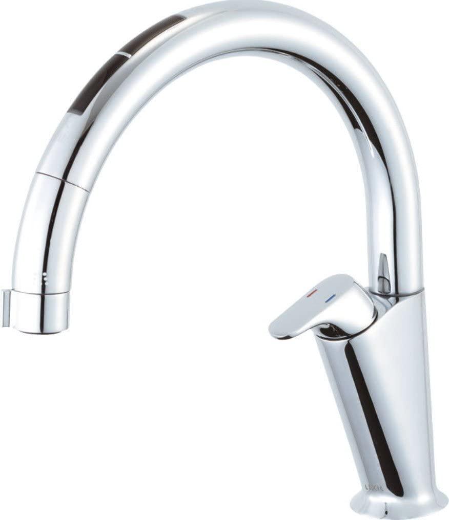 [SF-NA471SU]LIXIL(リクシル) INAX(イナックス) タッチレス キッチン水栓 ナビッシュ キッチン用蛇口 A7タイプ ホース引出式 ハンズフリー 送料無料
