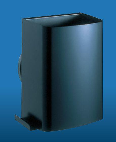 キョーワナスタ 耐外風高性能防音フード(防火ダンパー無) ブラック KS-V15FSM-BK